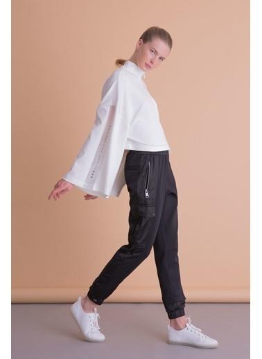 GIZIA Pantolon Siyah
